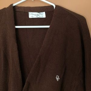 Vintage Dior cardigan xl